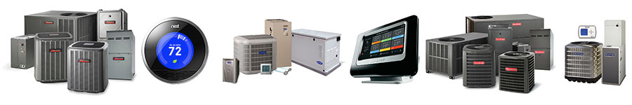 Klondike Air Conditioning Heating Orange County CA Brands