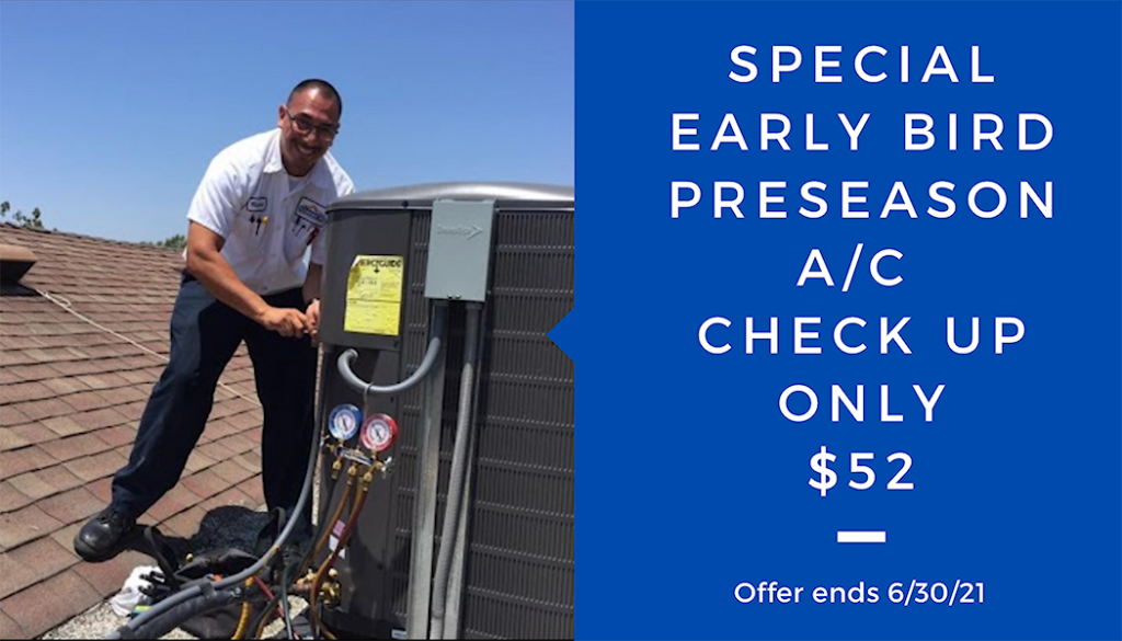 Klondike Air - Summer Air Conditioning Checkup Special Offer